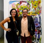 Diego Sterlacchin en el museo lopez Claro