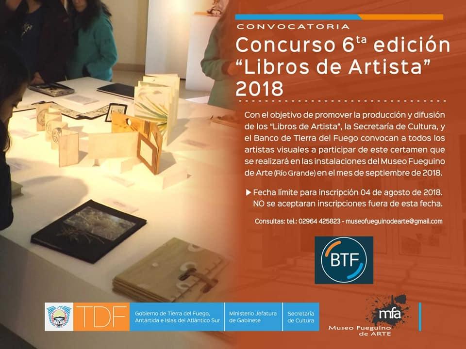 LIBRO DE ARTISTA|SEXTA EDICION EN TIERRA DEL FUEGO.