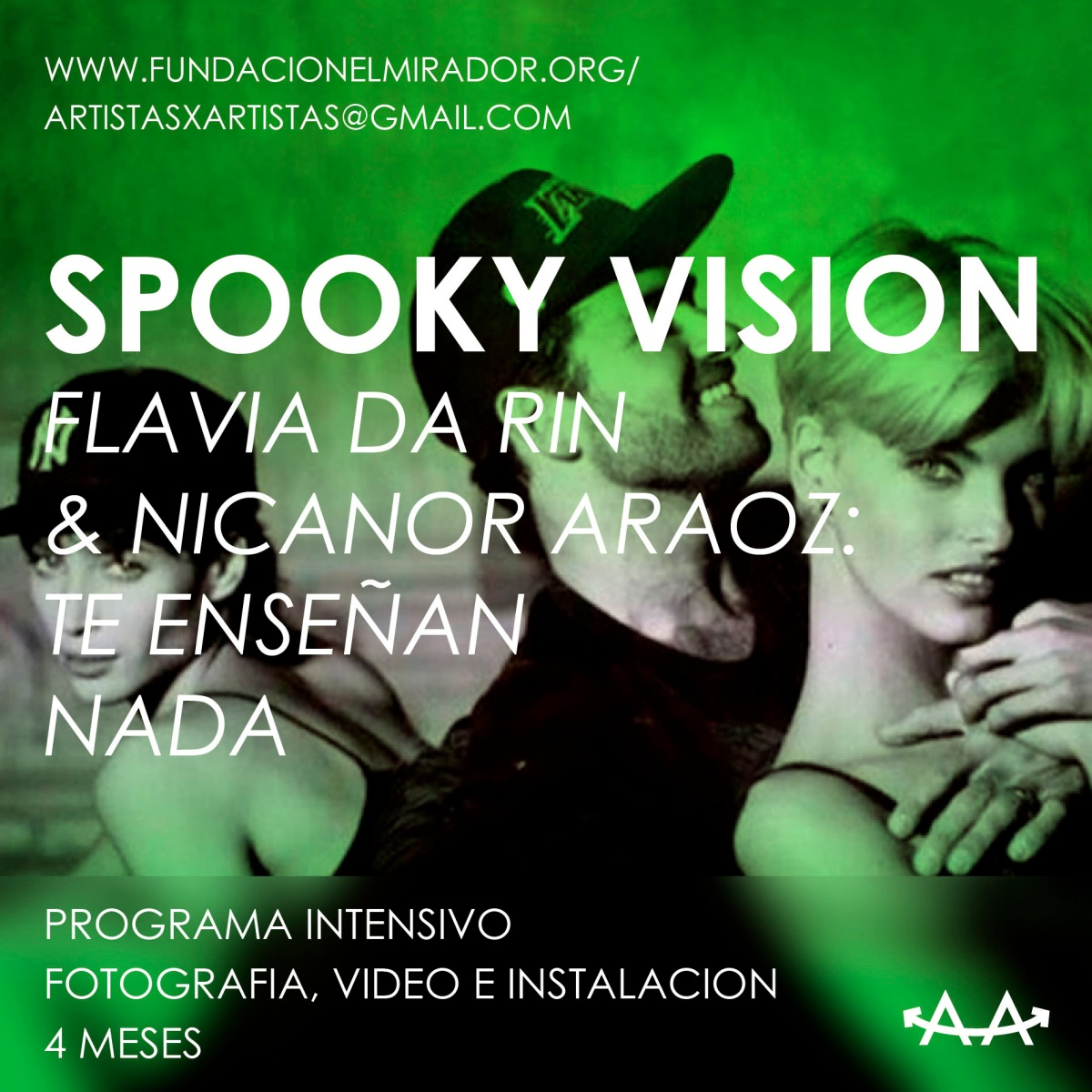 SPOOKY VISION - PROGRAMA INTENSIVO DE INSTALACION, VIDEO Y FOTOGRAFIA.