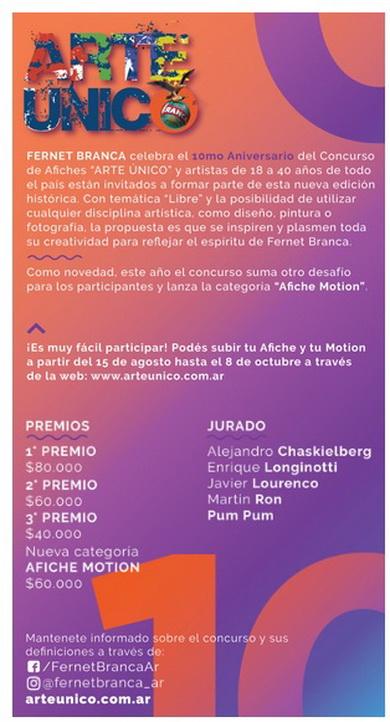 FERNET BRANCA | CONCURSO DE AFICHES 2018