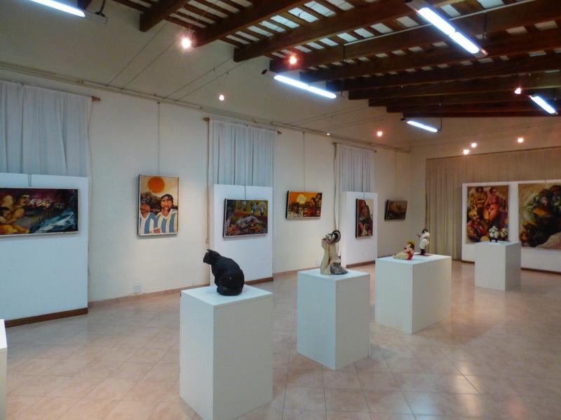 las obras exhibidas