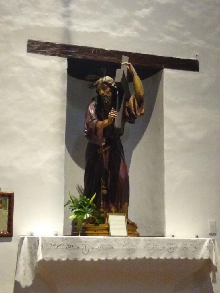 Uno de los iconos dentro del convento
