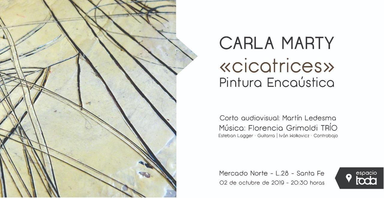 Carla Marty expone en Toda