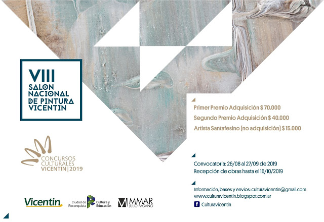 SALON VICENTIN|CONVOCATORIA 2019