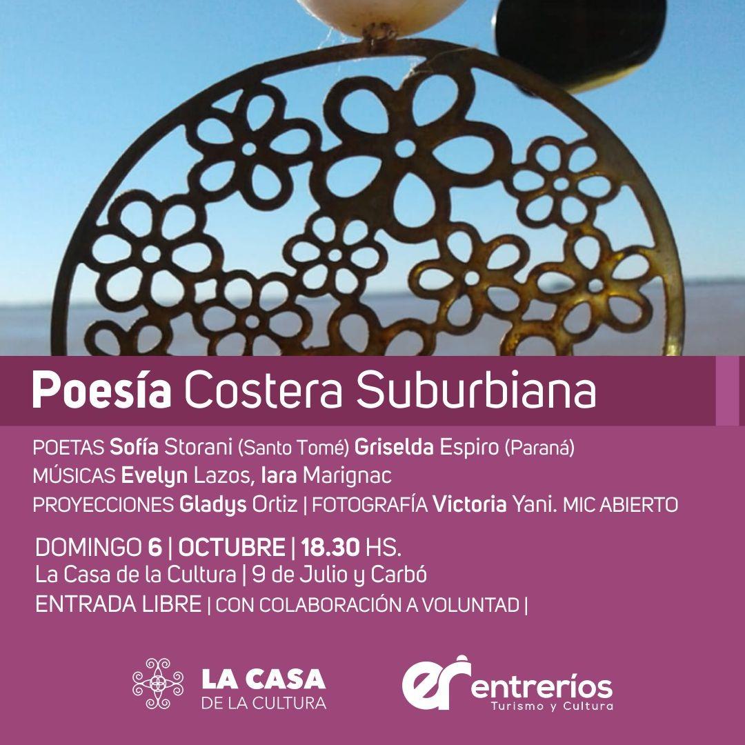 POESIA COSTERA SUBURBIANA EN ENTRE RIOS