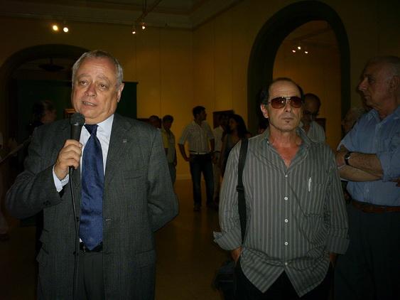 Jorge Galeano con Marcelo Olmos