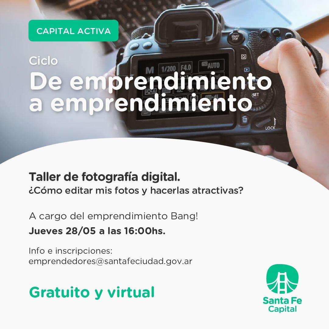 TALLER DE FOTOGRAFIA DIGITAL EN SANTA FE ACTIVA