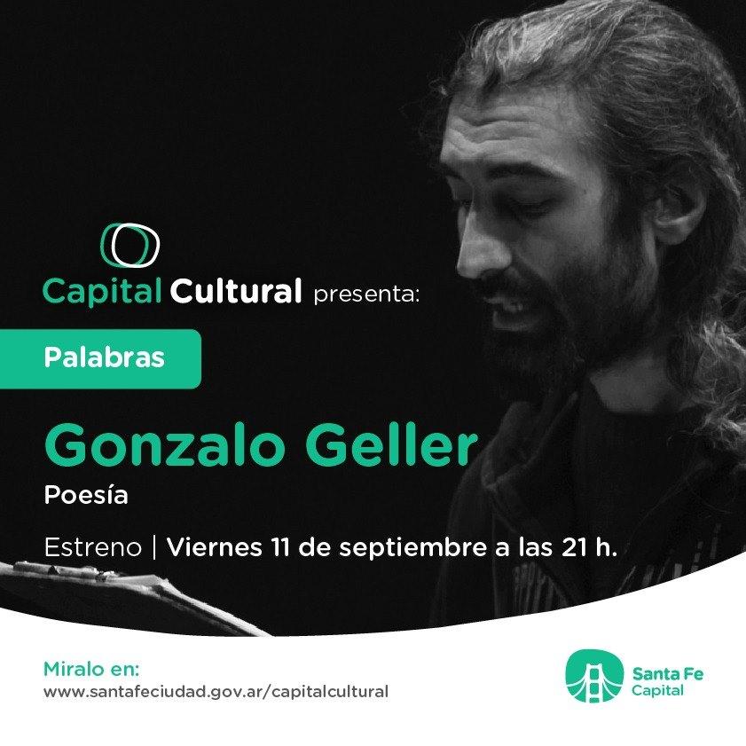 "GONZALO GELLER PRESENTA ""PALABRAS"" EN CAPITAL CULTURAL."